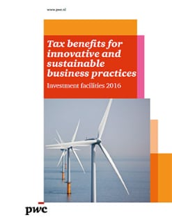 Tax benefits for innovative and sustainable business practices